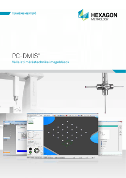 PC-DMIS® - Hexagon