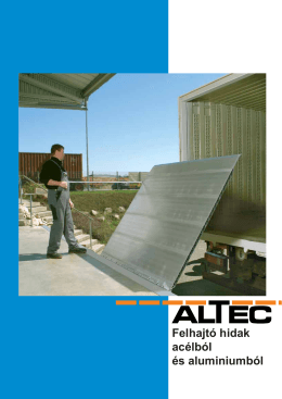 Felhajtó hidak acélból és aluminiumból (PDF)