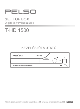 PELSO T-HD 1500 FTA