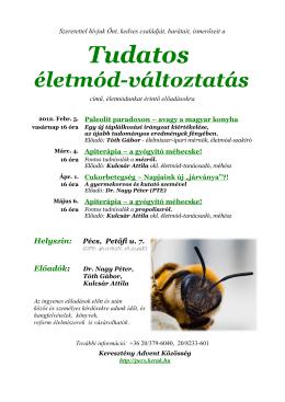 Tudatos - Keresztény Advent Közösség