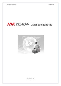 DDNS szolgáltatás - RIEL Elektronikai Kft.