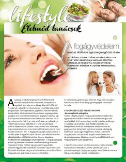 A fogágyvédelem, mint az általános