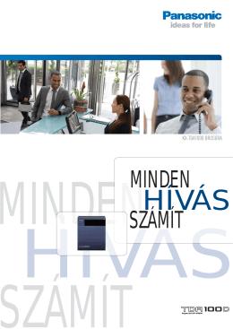 ESZÁMÍT MINDEN - Panasonic alközpont akció