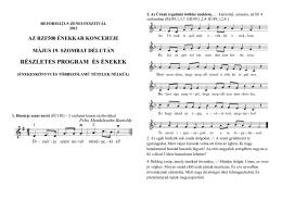 500-as kórus kották 2. - Református Zenei Fesztivál
