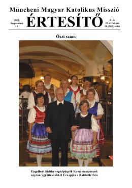 2012 ősz - Magyar Katolikus Misszió München