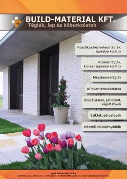 Build-Material Kft Termékkatalógus 2013