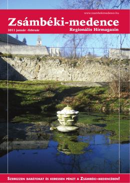 2011 JANUÁR-FEBRUÁR PDF-ben letölthető - Zsámbéki