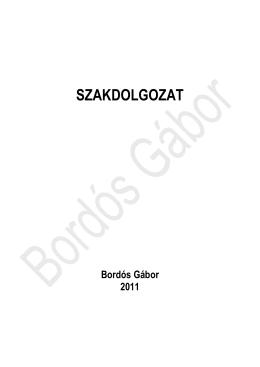 Bordós Gábor - Budakalász város hulladékgazdálkodásának