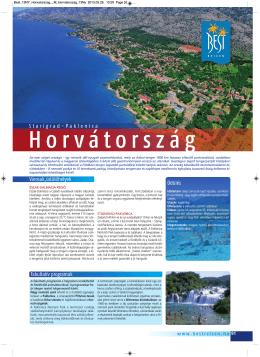 Horvátország - Best Reisen