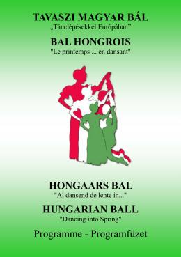 TAVASZI MAGYAR BÁL HUNGARIAN BALL BAL