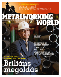 Metalworking World 1/2010