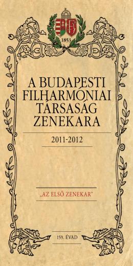159. ÉVAD - Magyar Állami Operaház