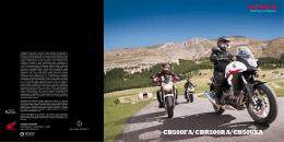 CB500FA/CBR500RA/CB500XA