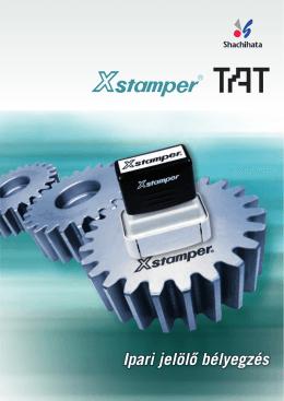 Xstamper TAT ipari béyegzők katalógus (.pdf)