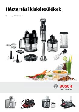 Bosch kiskészülék újdonságok