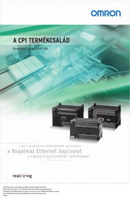 A CP1 TERMÉKCSALÁD