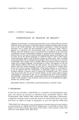 Artikli alus - Estonian Academy Publishers