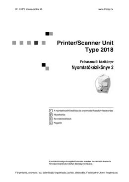 Ricoh Aficio 2015-2018-2018D nyomtatókézikönyv (pdf)