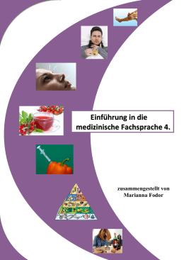 Einführung in die medizinische Fachsprache 4.