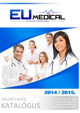 Eumedical Katalógus 2014