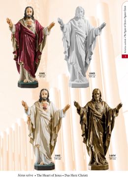 Jézus szobrok - Kerekes kegytárgy nagykereskedés