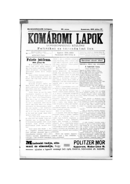 POLITZER IVIÓR - Jókai Mór Városi Könyvtár Komárom
