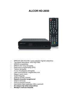 Alcor HD-2650