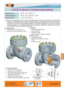 LVCS-2 - log valve
