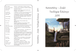 Keresztény–Zsidó Teológiai Évkönyv 2011