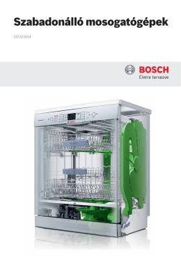 Letölthető katalógus - Bosch Szabadonálló mosogatógépek