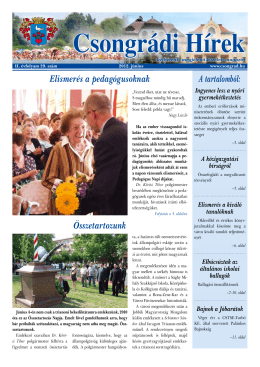 Csongrádi Hírek
