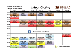 Indoor Cycling - Oxygen Wellness
