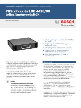 PRS‑1P500 - SERVINTERN | Biztonságtechnikai Kft.