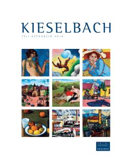 Katalógus letöltése - Kieselbach Galéria