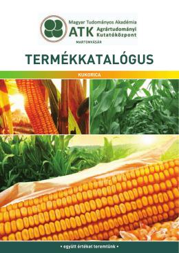 Kukorica fajtakatalógus 2014