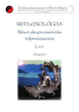 Reflexológia Kínai akupresszúrás talpmasszázs - Yin