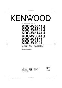 KDC-W5641U KDC-W5541U KDC-W5141U KDC