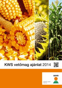 KWS kukorica vetőmag katalógus