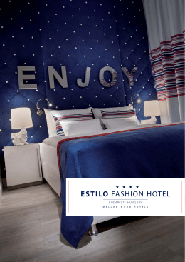 Fact Sheet - Estilo Fashion Hotel