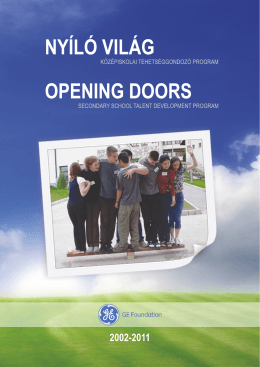 GE Foundation: Opening Doors