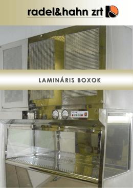 A lamináris boxok prospektusa pdf formátumban