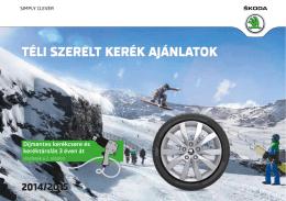 PDF letöltése - ŠKODA szerviz
