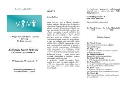 Meghívó - Magyar Személyre Szabott Medicina Társaság
