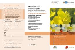 Program és jelentkezési lap