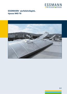 ESSMANN® sávfelülvilágító, típusa 940/10