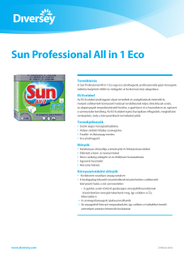 Sun Professional All in 1 Eco
