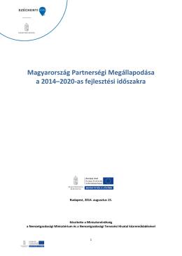 Magyarország Partnerségi Megállapodása a 2014–2020