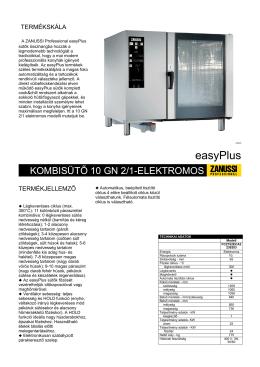 adatlap Easy Plus kombisütő 10 GN 2-1 elektromos.pdf