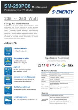 235 ~ 250 Watt