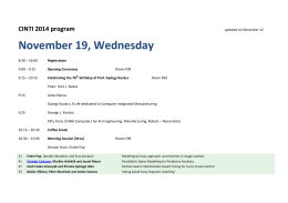 November 19, Wednesday